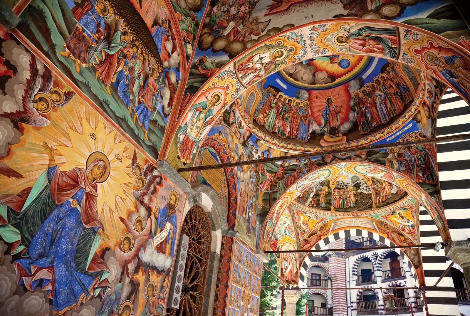 Bulgaria Iglesias iconos e monasterias